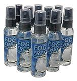 7. Fog Free™️ Anti Fog Spray For Glasses   2 Oz Spray Bottle   Stops Fogging for Up to 5 Days   Anti-Static   Anti-Streak   - 10 Pack