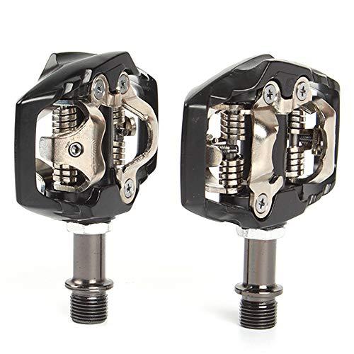 Verrouillage Auto PéDales SéCurité VéLo Composants Portable en Alliage D'Aluminium Durable pour VTT Racing Route (Pd-M8200)