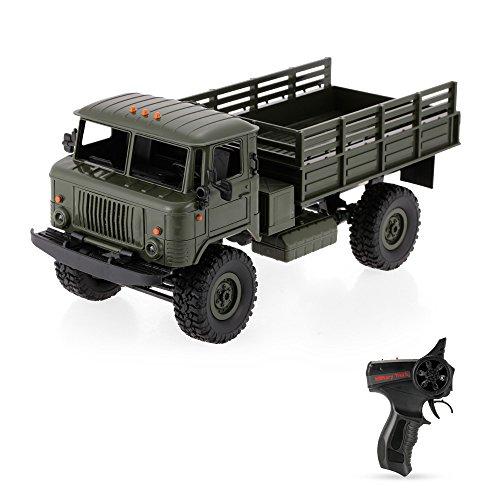 GoolRC WPL B-24 1/16 2,4 GHz Militär LKW RC Offroad Armee Auto Elektrofahrzeug Mit Licht RTR Kinder Geschenk