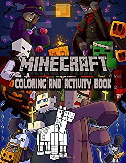 Minecraft Coloring And Activity Book: An Unofficial Minecraft Coloring and Activity Book For Kids