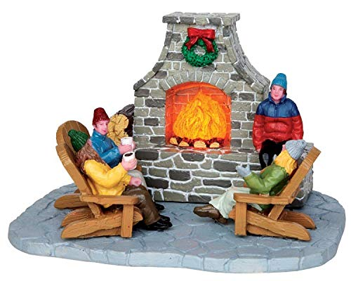 Lemax - Outdoor Fireplace