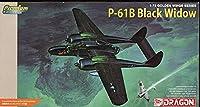 ドラゴン 1/72 アメリカ陸軍夜間戦闘機 ノースロップ P-61B ブラックウィドウ プレミアムエディション