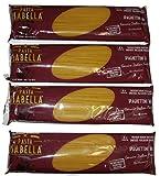 Pasta Isabella Imported Italian Spaghettini 16, Premium Durum Semolina Enriched Macaroni - Low Dry...