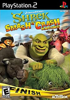 Shrek Smash 'N' Crash Racing - PlayStation 2