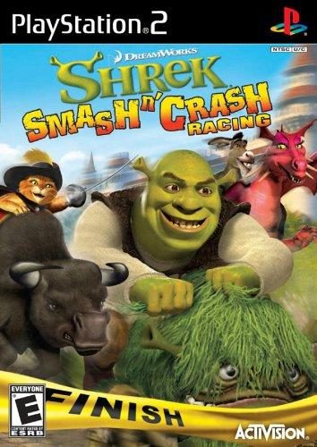 Shrek Smash 'N' Crash Racing - PlayStation 2 Illinois