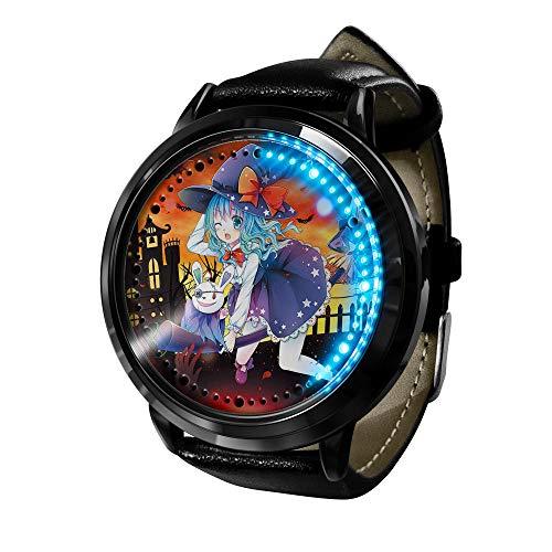 Anime Citas Guerra señoras Relojes señoras Relojes Casuales-C