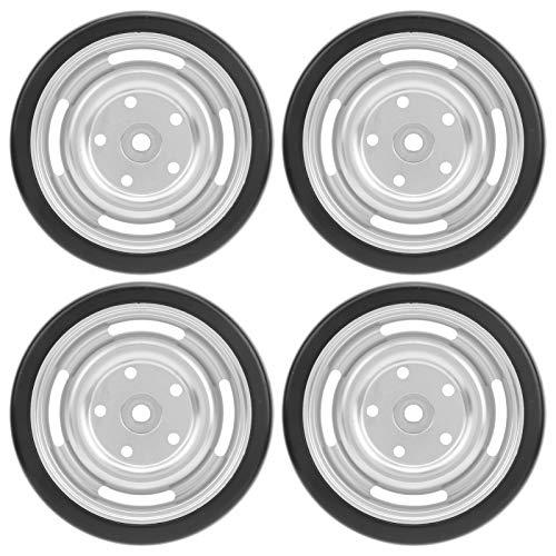 4 Piezas RC Drift Neumático, Accesorio RC Ruedas RC Piezas de Repuesto de Ruedas eléctricas Ruedas de vehículos RC para camión WPL D12 RC