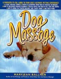 guide to dog massage book