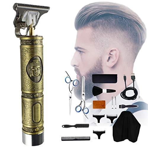 Elektrische tondeuse voor kappers | Professionele draadloze tondeuse voor kappers Baardtrimmer | Hair styling tool voor mannen CHC-704
