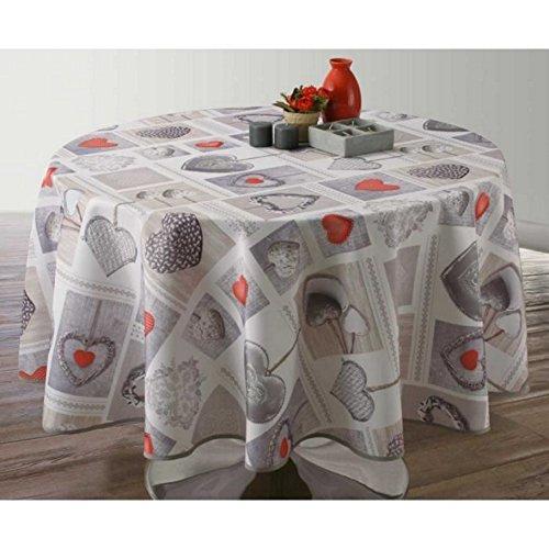 Nappe table bandes table coureur Linnea KIWI 0,15 x 20,00 m Lacets table DECO