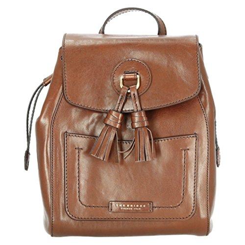 The Bridge Backpack SANTACROCE Female Leather Brown - 04334801-14