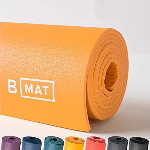 B YOGA Strong 6mm Mat 100/% Rubber High Performance Super Yoga Grip Non Slip OEKOTex Certified Pilates