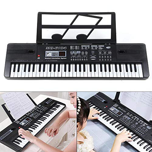 Coldshine 61-Key Portable Electric Digital Piano Organ Musical Beginner...