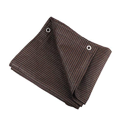 WZHTARPAULIN Outdoor Dekzeil Zonnekap Net Zonnebrandcrème Net Daktent UV Bescherming 170G / M2 Multi-size Optioneel