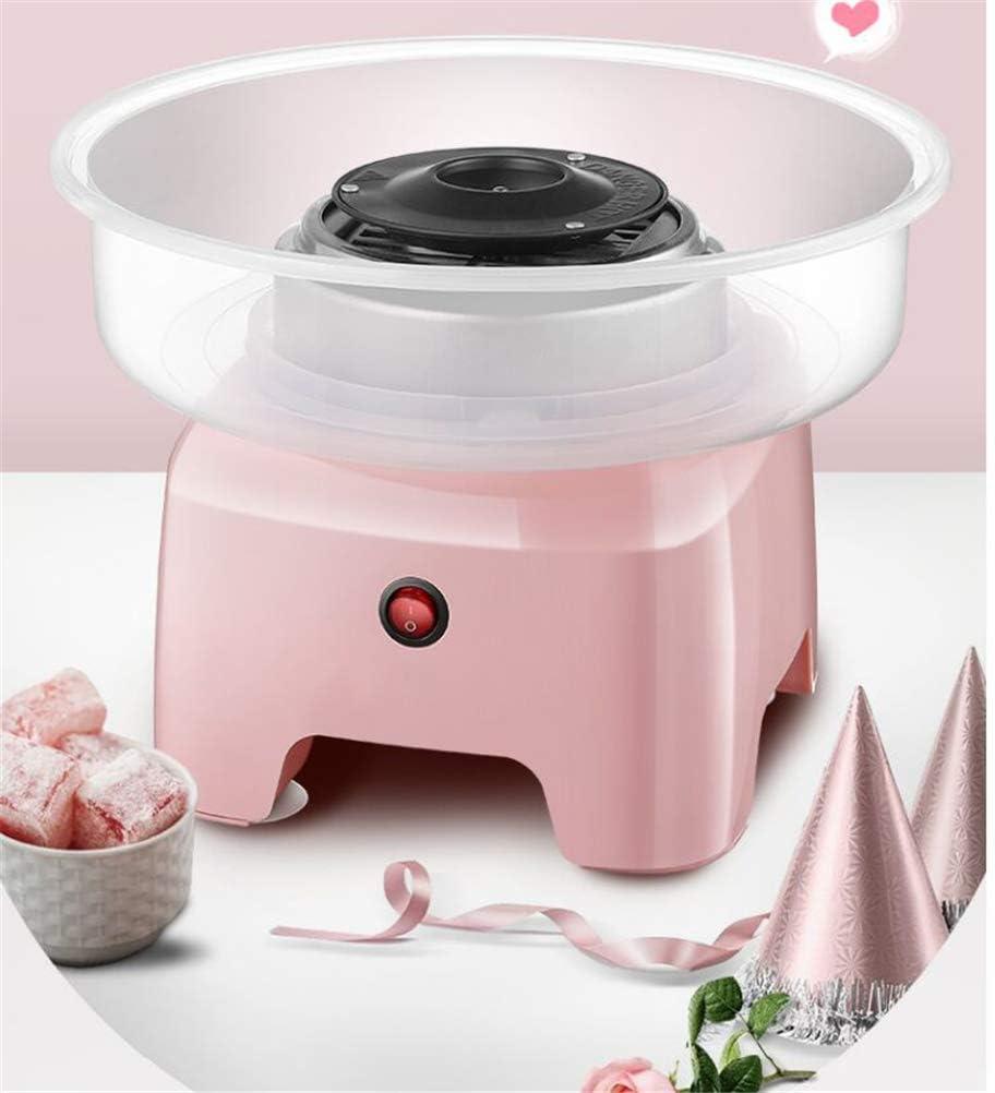 Suikerspinmachine Automatisch Kinderen Fancy Mini Commerciële Elektrische Marshmallow voor Kinderen Kerstcadeau Machine 220V 500W, Groen Green