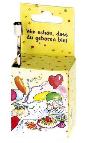 """Fridolin 59401, Musikbox """"Zuckowski Wie schön, DASS Du geboren bist"""""""