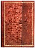 Notizbuch/Tagebuch: Edle Schriften, braun, liniert, A4, mit Magnetverschluss, Hardcover