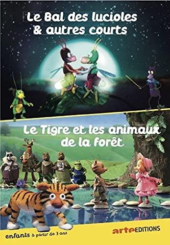 The Fireflies Ball and Other Shorts + The Tiger and The Forest Animals ( Les petits écoliers / Le bal des lucioles / Une nouvelle espèce / Souris mon ami ! / Le [ Französische Import ]