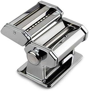 YGC24 家庭用製麺機の小さなステンレス鋼プレス機の多機能手動パスタマシン麺狭い麺プレス機の幅 Large capacity leakproof stainless steel oil kettl (Color : Silver)