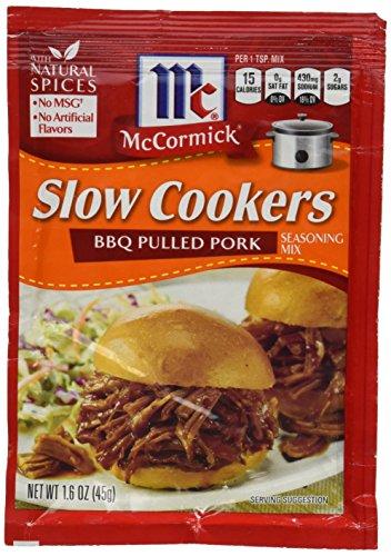 McCormick Slow Herdarten: BBQ Pulled Pork (4Stück) 1.6Oz Pakete