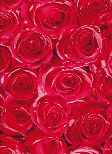 i.stHOME Klebefolie Rosen rot - Möbelfolie Blumen Selbstklebende Folie 45x200