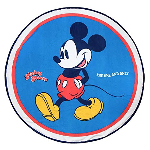 Toalla Licencia Mickey Mouse Redonda 130 cm.