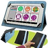 Mobiho Essentiel - La tablette INITIALE 7P avec pochette Noir et Bleu, l'essentiel...