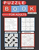 Puzzle Book for Adults Volume 02: Variety Puzzles Book for Adults, Over 200 Puzzles of Sudoku,...