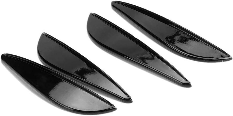 free Exterior Bumper Guard Splitter Fins Lip Spoiler sale 4pcs Car