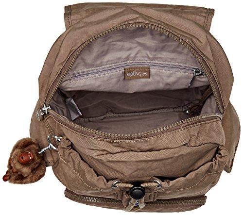 Kipling City Pack S, Women's Backpack, Beige (True Beige), 27x33.5x19 cm (W x Dx H)