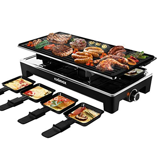 CUSIMAX Raclette Grill Electric Grill Table - $59.97