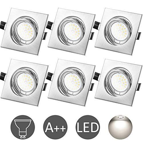 Faretti da Incasso LED Per Cartongesso GU10 6W...