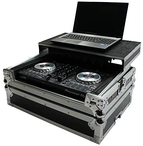 Harmony HCMINILT Flight Glide Laptop Stand Road DJ Case Compatible with Pioneer DDJ-SB3