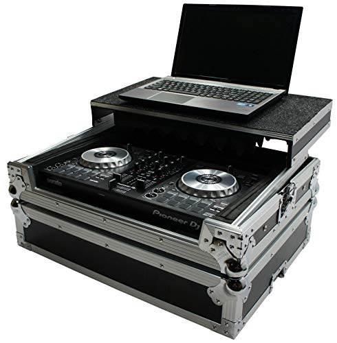 Harmony HCMINILT Flight Glide Laptop Stand Road DJ Case Compatible with Pioneer DDJ-SB3