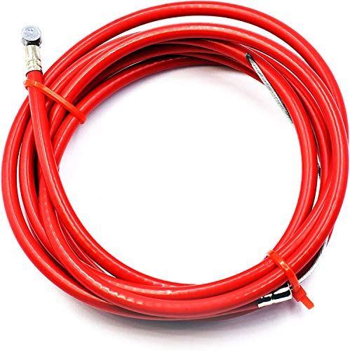 myBESTscooter - Cable de línea de Freno para Xiaomi Pro 2 Scooter eléctrico (Rojo)