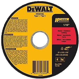 DEWALT DWA8726L T1 HP Long Life Cut-Off Wheel, 6