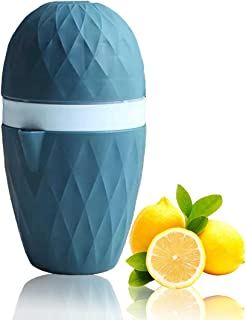 Manual Juicers, Citrus Orange Lemon Squeezer, Multifunctional Lime juicer, Two Ways of Use for Different Fruits, for Makin...