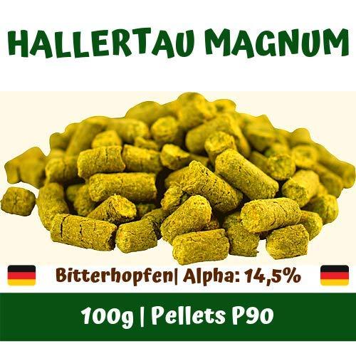 Hallertau Magnum | 100g Hopfenpellets | Bitterhopfen | Bierbrauen