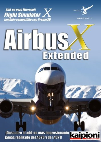 Extension Flight Simulator - Airbus X Extended Edition, Español