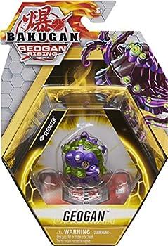Bakugan Geogan Diamond Sluggler Geogan Rising Collectible Action Figure and Trading Cards