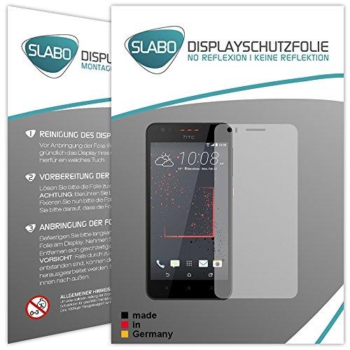 Slabo 4 x Bildschirmschutzfolie für HTC Desire 825 Bildschirmfolie Schutzfolie Folie Zubehör No Reflexion MATT