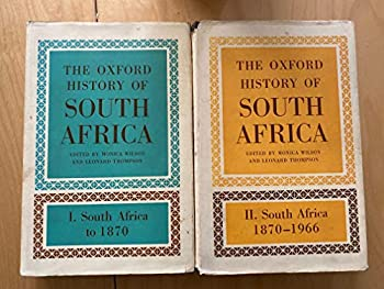 The Oxford history of South Africa; 0198216416 Book Cover