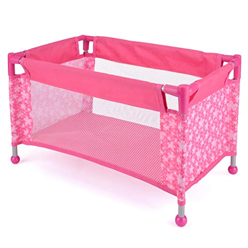 Toyrific Snuggles Deluxe Dolls Travel Cot for Children, 43