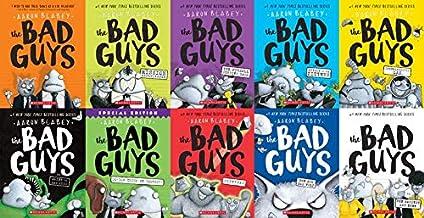 Bad Guys Book Series 1-10