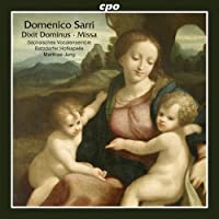 Missa & Dixit Dominus by DOMENICO SARRI (2012-10-30)
