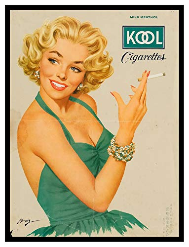 8 x 10 Photo Print Kool_Cigarettes_Ad Vintage Old Advertising Campaign Ads