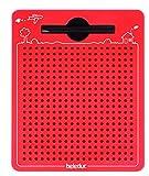 Beleduc 21091 - Das magische Magnetspiel, magnetische Zeichentafel, zum Mitnehmen, rot, klein...