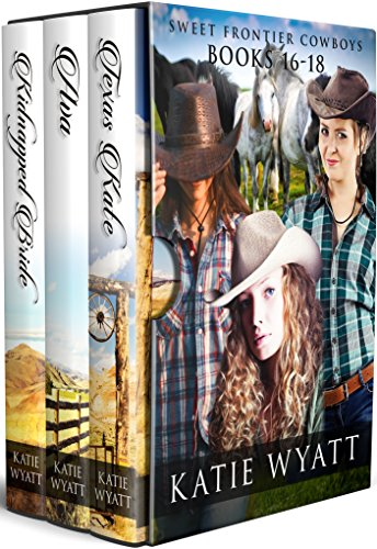 Box Set Sweet Frontier Cowboys Novels 16-18 (Sweet Frontier Cowboys Collection Book 6) (English Edition)
