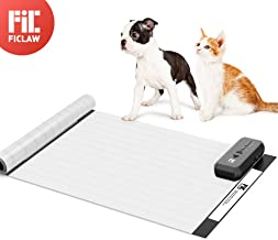 FIC FICLAW Scat Mat Pet Shock Mat for Dogs Cats 60x12 Inches Pet Shock Pad with Intelligent Safety Protection Sofa Size for Furniture Couch Bed Kitchen