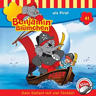 Benjamin als Pirat cover art